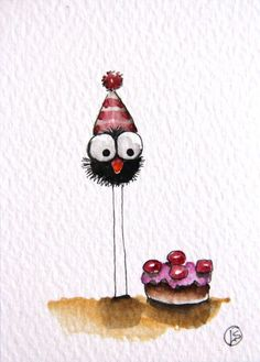 Birthday wishes sayings Image - Imagez My Birthday Cake, Birthday Wishes, Birthday Cards, Happy Birthday, Birthday Message, Watercolor Cards, Watercolor Paintings, Watercolour, Art Fantaisiste