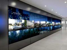 「digital signage wall」の画像検索結果: