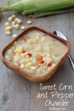 sweet corn and peppe
