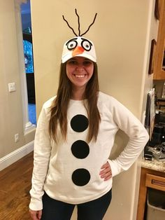 christmas costumes for halloween DIY Costumes that are Easy, C. christmas costumes for halloween DIY Costumes that are Easy, Cheap, and Adorable -. Snowman Costume, Teacher Halloween Costumes, Diy Olaf Costume, Diy Halloween Costumes For Women, Christmas Character Costumes, Christmas Costumes, Halloween Christmas, Halloween Ideas, Meme Costume
