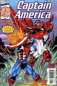 Captain America (1998 3rd Series) 25 Marvel Comics Modern Age Comic book covers Super Heroes Villians