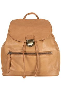 leather backpack, topshop