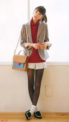 桐谷美玲の画像 プリ画像 Geek Chic Outfits, Socks Outfit, Cyberpunk Girl, Hot Japanese Girls, Simple Fall Outfits, Clogs, Tweed Mini Skirt, Schoolgirl Style, Fashion Tights