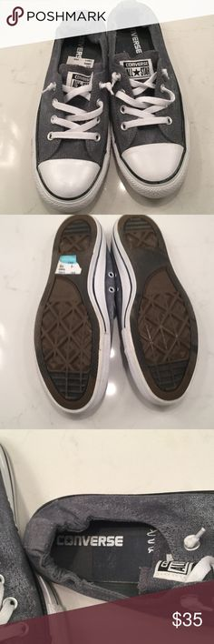 New with tags Converse size 71/2 m Women's 9 men's 7 1/2 super cute Converse Shoes Athletic Shoes