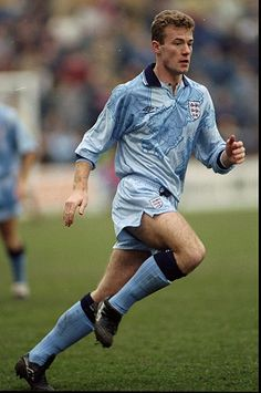 Credit: David Cannon/Getty Images 1992 England produced an 'interesting' alternate third kit in 1992 which was, thankfully,. Retro Football Shirts, Football Uniforms, Football Kits, Vintage Football, Soccer Shirts, Team Shirts, Football Soccer, England Football Kit, England Kit