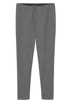 Violeta By Mango Women's Plus Size Micro Houndstooth Leggings, Medium Heather Grey, Xs   #FreedomOfArt  Join us, SUBMIT your Arts and start your Arts Store   https://playthemove.com/SignUp