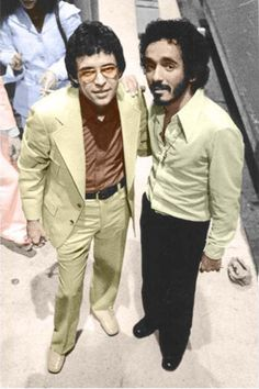 Hector Lavoe/Willie Colon Lady in Orange loves him.