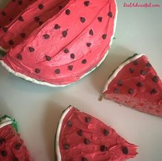 Watermelon Cake Reci