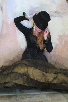 Rodeo Cinderella Skirt & Belle Jacket in Velvet  marrikanakk.com