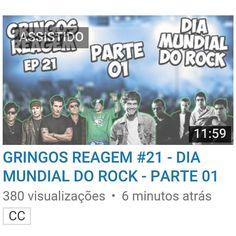 Aqui vocês pedem e a gente faz! Nada melhor que comemorar o #diadorock com rock brasileiro! Depois de passar pelos funks pelos hits mais zoeiros pelos memes e pela nossa geografia agora nossos heróis conhecem o nosso rock. Ainda rola cultura com uma explicação do pq esse dia ser considerado dia do rock \m/