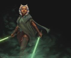 ArtStation - Star Wars: Force and Destiny - Ahsoka Tano, Tony Foti