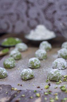 Russian Green Tea Cookies