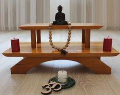 Meditation Raumdekor, Meditation Room Decor, Home Yoga Room, Zen Room, Meditations Altar, Buddhist Shrine, Buddhist Wisdom, Buddhist Prayer, Buddhist Art