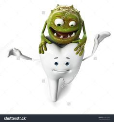 Find Funny Tooth Bacteria stock images in HD and millions of other royalty-free stock photos, illustrations and vectors in the Shutterstock collection. Tooth Bridge, Dental Art, Oral Health, Dentistry, Make You Smile, Teeth, Royalty Free Stock Photos, Doodles, Make It Yourself