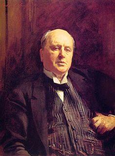 John Singer Sargent portrait of Henry James