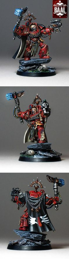 Captain Karlaen, Blood Angels Terminator from Deathstorm box set.