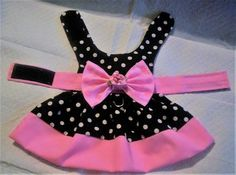 Your place to buy and sell all things handmade - Rosa gebändert Hundegeschirr Polka Dot Kleid XXXS XXS XS S Rosa Satin, Dog Clothes Patterns, Pet Fashion, Curvy Fashion, Street Fashion, Fall Fashion, Puppy Clothes, Dog Dresses, Sheath Dresses