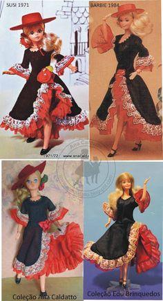 Susi Espanhola 1971 X Barbie Espanhola 1984