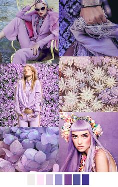 Pattern Curator is a trend service for color, print and pattern inspiration. Colour Schemes, Color Trends, Color Patterns, Color Combinations, Color Palettes, Fashion Colours, Colorful Fashion, Color Lila Pastel, Color Lavanda