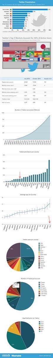 Quanti utenti Twitter attivi ci sono nel mondo e in Italia?