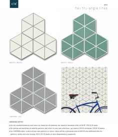 Somertile Hextile Basilica Pepe Porcelain Decor Floor And Wall Tile 1 Each For The