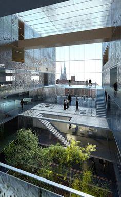 Kultstatus | Z I G G U R A T | Magdeburger Hafen, HafenCity Hamburg | LAN Architecture