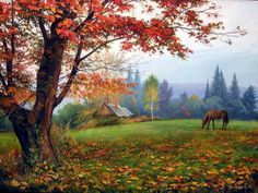 Executioners Vyacheslav - Autumn colors. Autumn in the park