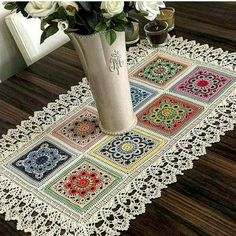 color-motif-is-motifs ranna – crochet pattern Crochet Motifs, Granny Square Crochet Pattern, Crochet Mandala, Crochet Squares, Crochet Granny, Crochet Blanket Patterns, Crochet Doilies, Crochet Flowers, Cotton Crochet