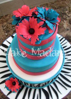 Trendy cake  by Cake Madam, via Flickr