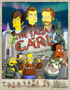 simpsons poster | The Simpsons Season Finale Poster Featuring Sigur Rós Released