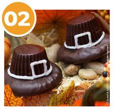Thanksgiving Pilgrim Hat Treats | Thanksgiving Recipes | Children's Activities | Elf on the Shelf Blog
