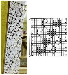 Crochet Bookmark Pattern, Crochet Bookmarks, Crochet Doily Patterns, Crochet Borders, Crochet Motif, Crochet Doilies, Crochet Curtains, Crochet Quilt, Crochet Tablecloth