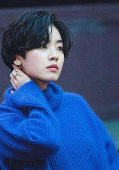 Lee Joo Young, Shot Hair Styles, Bob Styles, Kawaii Anime Girl, Pixie Haircut, Androgynous, Pixie Cut, Girl Hairstyles, Hair Cuts