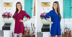 Long Tunic Dress - 4 Colors!