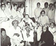 Baba with Godavri Mai