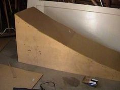 Make your own Bike ramp using the bare essentials!