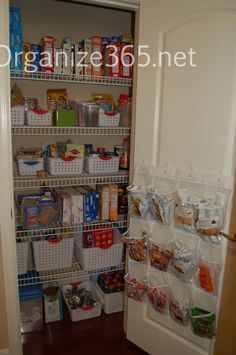 Organized Pantry | Organizing with ADHD is not natural, but it is doable! Here are 5 steps to help get you more organized.