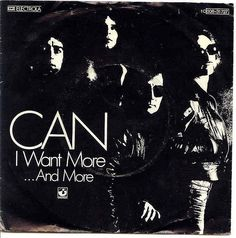 I Want More, German picture sleeve 1976