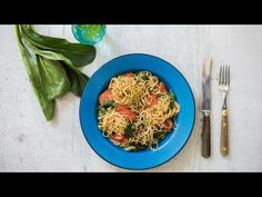 Japchae, Min, Spaghetti, Ethnic Recipes, Youtube, Food, Youtubers, Meals, Noodle
