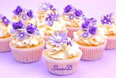 Purple,Lilac n White