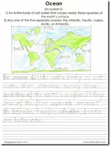 Wonderful printables to go with our geography studies!