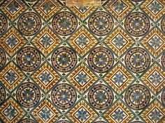 Tiling in Sevilla by fdecomite, via Flickr