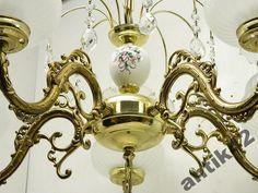 Piękny oryginalny żyrandol z Francji/ MOSIĄDZ