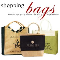 07cb7ee64 CarryGreen's #Natural #Jute #Shopper's gusset Bag is made from all natural  #organic · Burlap ToteTrade ...