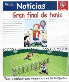 laminas redaccion tenis