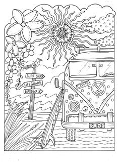 ESCAPE Magical, Tropical Designs to Color. Relax and Get Away From it All!! Single Sided, Card Stock, Spiral Bound for Easy Coloring Fun: Deborah Muller: 0641243892849: Amazon.com: Books