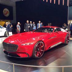 Le concept Vision Mercedes-Maybach 6 à redécouvrir Hall 5.2 #MondialAuto #conceptcar #voiture #automotive #automobile #cars #carsofinstagram #mercedes #vision6