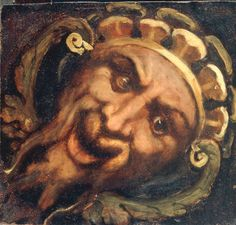 Titian Satyr Mask