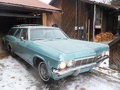 Chevrolet : Impala Impala 1965 Impala Idaho Patina Station Wagon 327 One Owner , The Real Deal - http://www.usabarnfinds.com/archives/1243