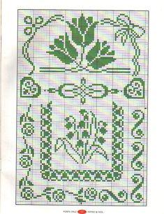 Dmc Cross Stitch, Cross Stitch Borders, Cross Stitch Samplers, Cross Stitch Flowers, Cross Stitch Designs, Cross Stitching, Cross Stitch Embroidery, Cross Stitch Patterns, Knitting Charts